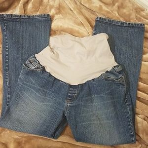 Maternity jeans size Petite Large